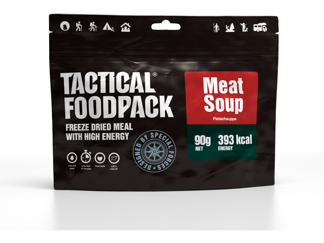 Tactical Foodpack Freeze Dried Meal 90g, Meat Soup